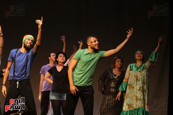 أفتتاح فاعليات مهرجان آفاق مسرحية  (36)