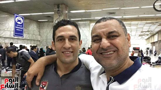 وصول-بعثة-فريق-يد-الأهلي-للقاهرة-بعد-الفوز-بالبطولة-الأفريقية-(5)