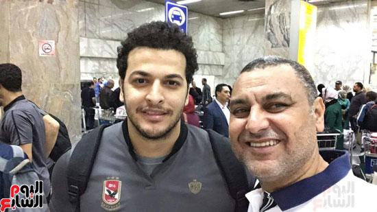 وصول-بعثة-فريق-يد-الأهلي-للقاهرة-بعد-الفوز-بالبطولة-الأفريقية-(8)