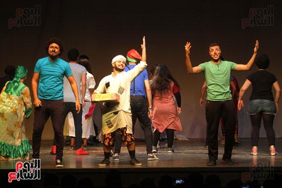 أفتتاح فاعليات مهرجان آفاق مسرحية  (1)