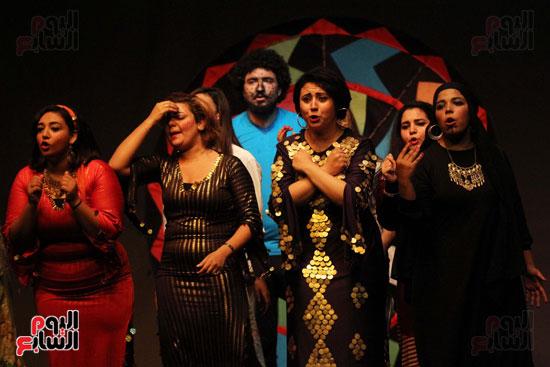 أفتتاح فاعليات مهرجان آفاق مسرحية  (9)