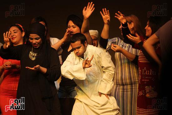 أفتتاح فاعليات مهرجان آفاق مسرحية  (3)