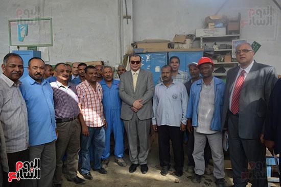 لقاء الوزير مع العاملين