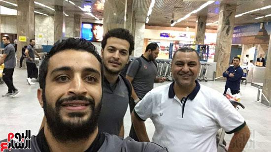 وصول-بعثة-فريق-يد-الأهلي-للقاهرة-بعد-الفوز-بالبطولة-الأفريقية-(6)