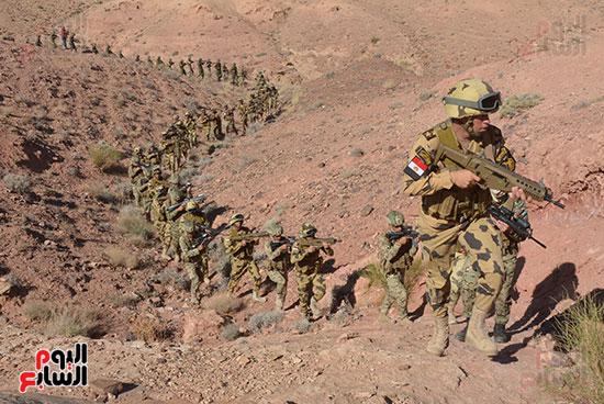 """القوات المصرية والأردنية تواصل تدريبات """"العقبة 2016"""""""