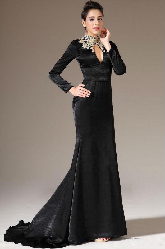 28d1206face66 لو هتفصلى فستان قطيفة.. 5 تصميمات أنيقة اختارى اللى يناسبك - اليوم ...