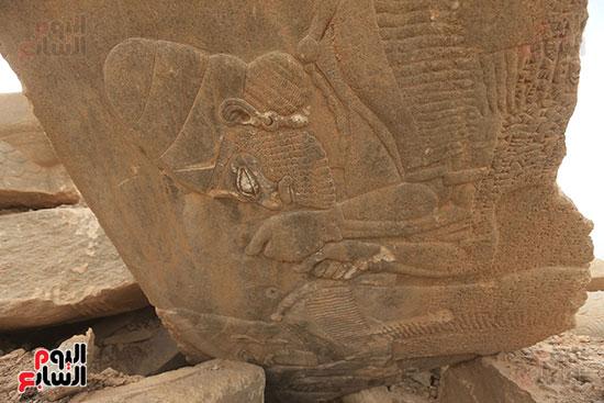 داعش يدمر مدينة نمرود الأشورية الأثرية