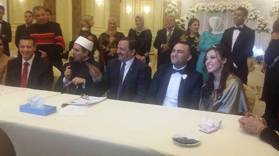 مذيعة قطاع الأخبار رغدة أبو ليلة تحتفل بعقد قرانها (5)