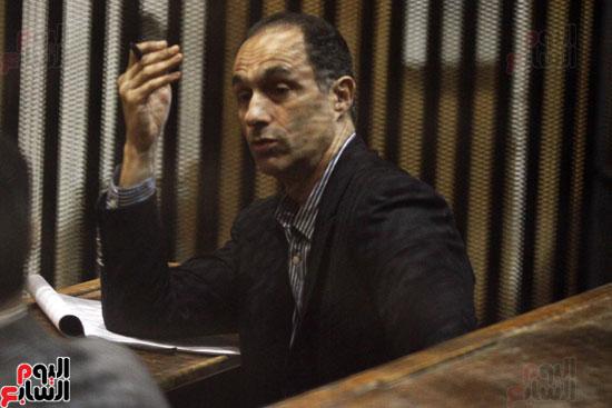 محاكمة جمال مبارك فى قضية البورصة
