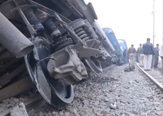 انحراف القطار عن القضبان