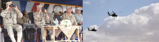 طائرات القوات الجوية المشاركة فى المناورة