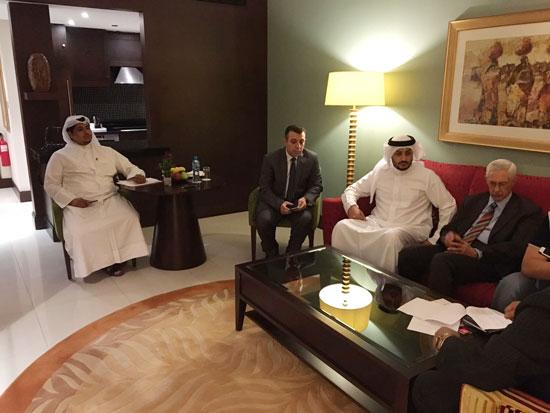 وفد من مجلس الدولة يلتقى النائب العام البحرينى (2)