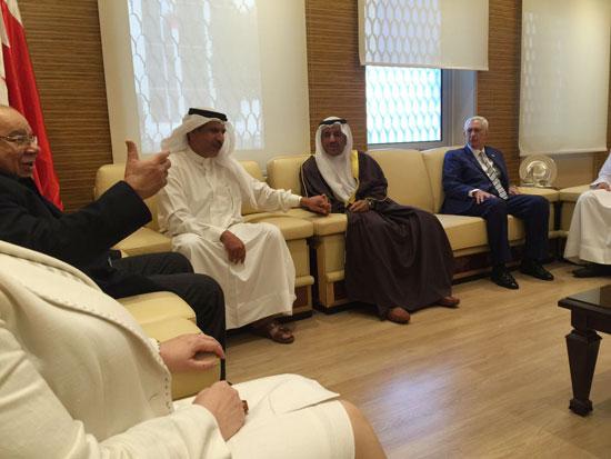 وفد من مجلس الدولة يلتقى النائب العام البحرينى (1)