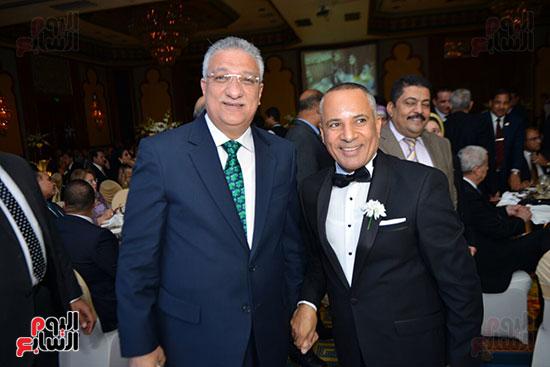 الإعلامى أحمد موسى و أحمد زكى بدر وزير التنمية المحلية