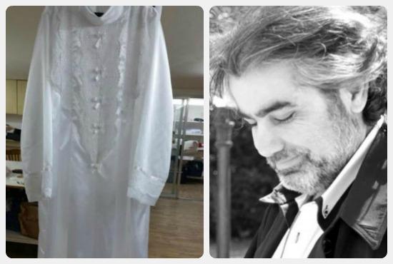 بسام نعمة مصمم آخر فستان ارتدته الفنانة صباح