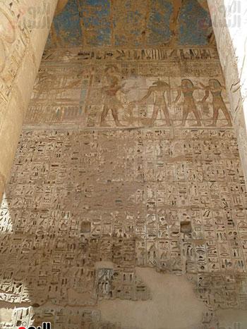 """الملك رمسيس الثالث بنى معبد هابو """"مدينة الموتى"""" لعبادة المعبود آمون"""