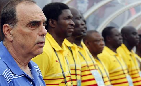الجهاز الفنى لمنتخب غانا