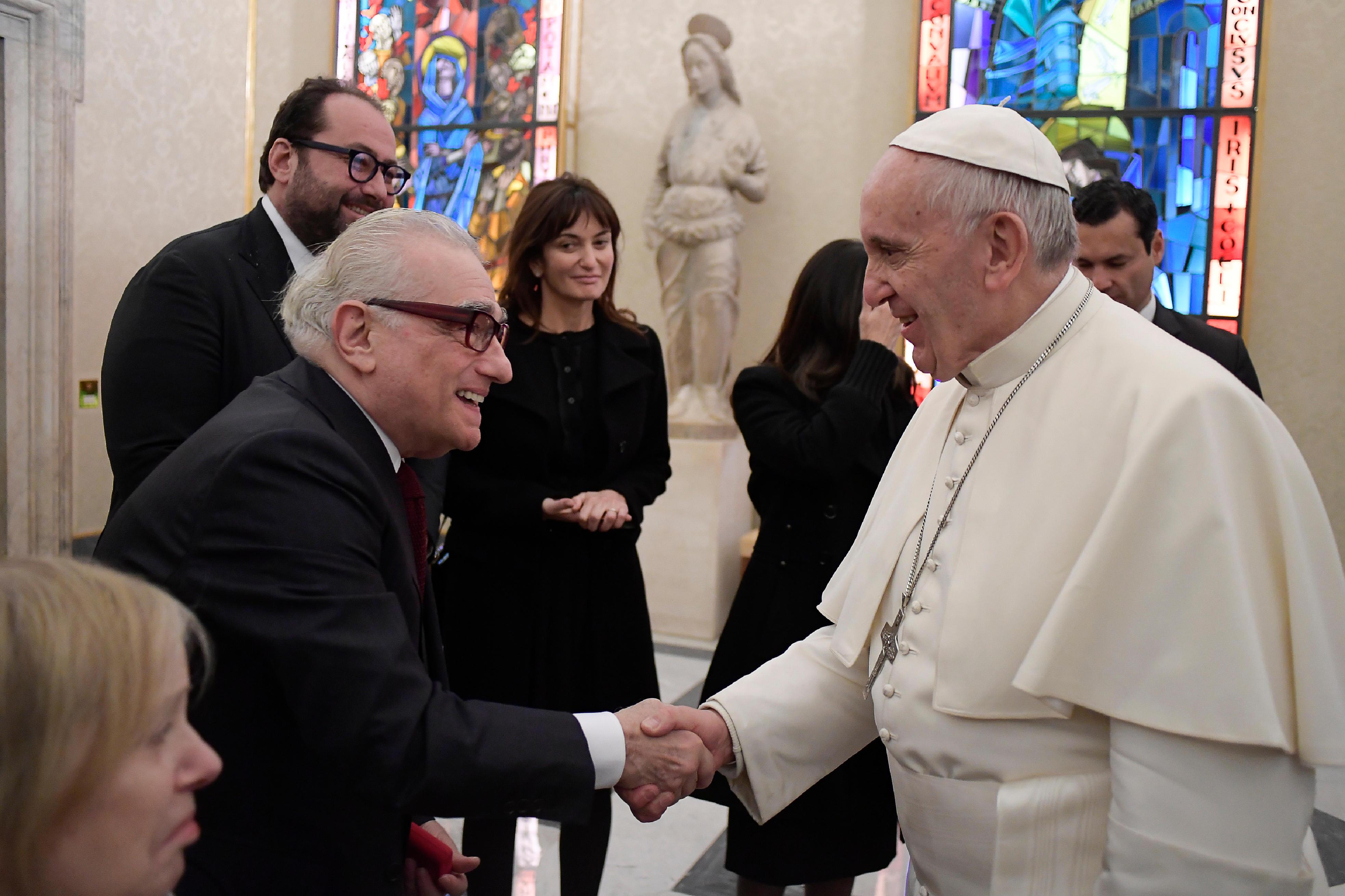 مارتن سكورسيزى والبابا