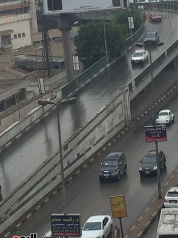 شوارع مصر بعد سقوط الأمطار