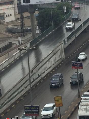 أمطار تغسل شوارع القاهرة