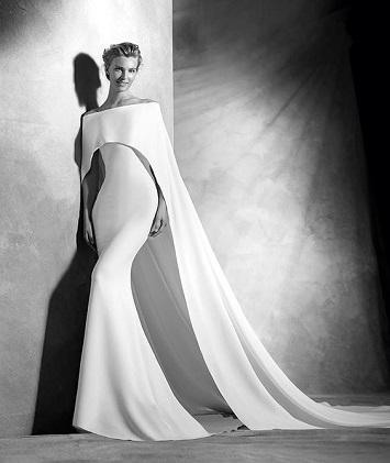 فستان زفاف شتوى