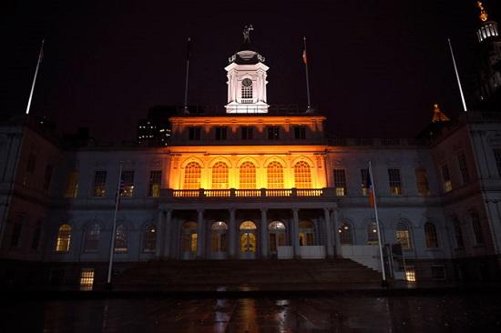 دار البلدية في مدينة نيويورك
