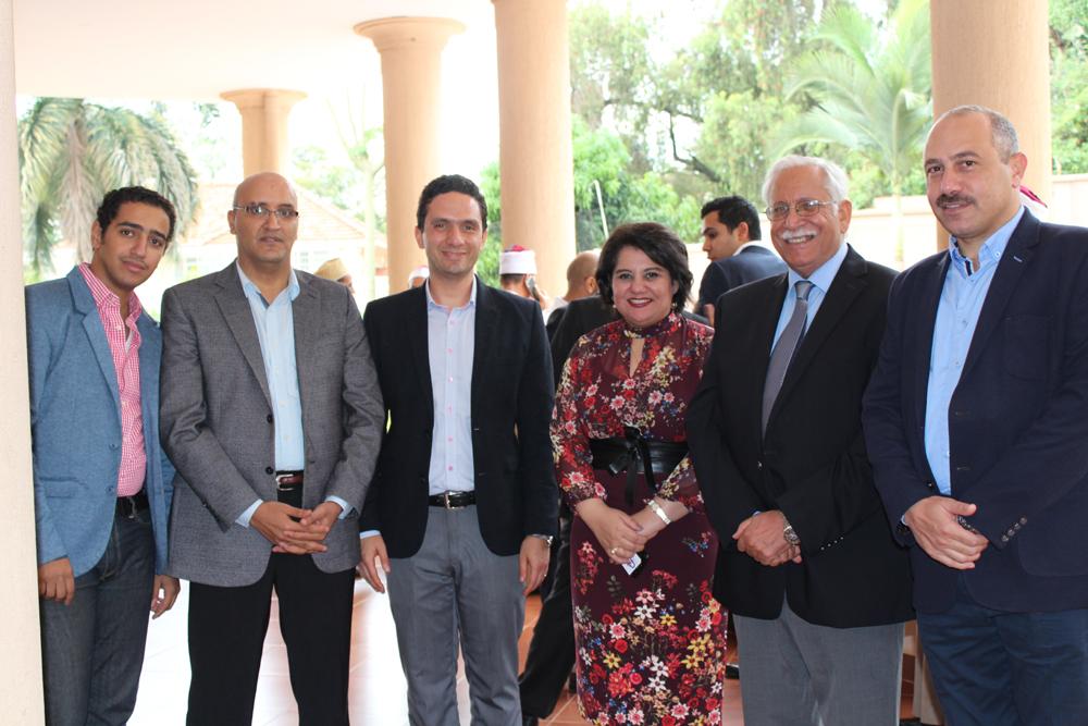 لقاء سفيرة مصر فى أوغندا مع أبناء الجالية