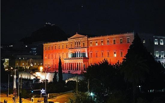 مبنى البرلمان اليونانى