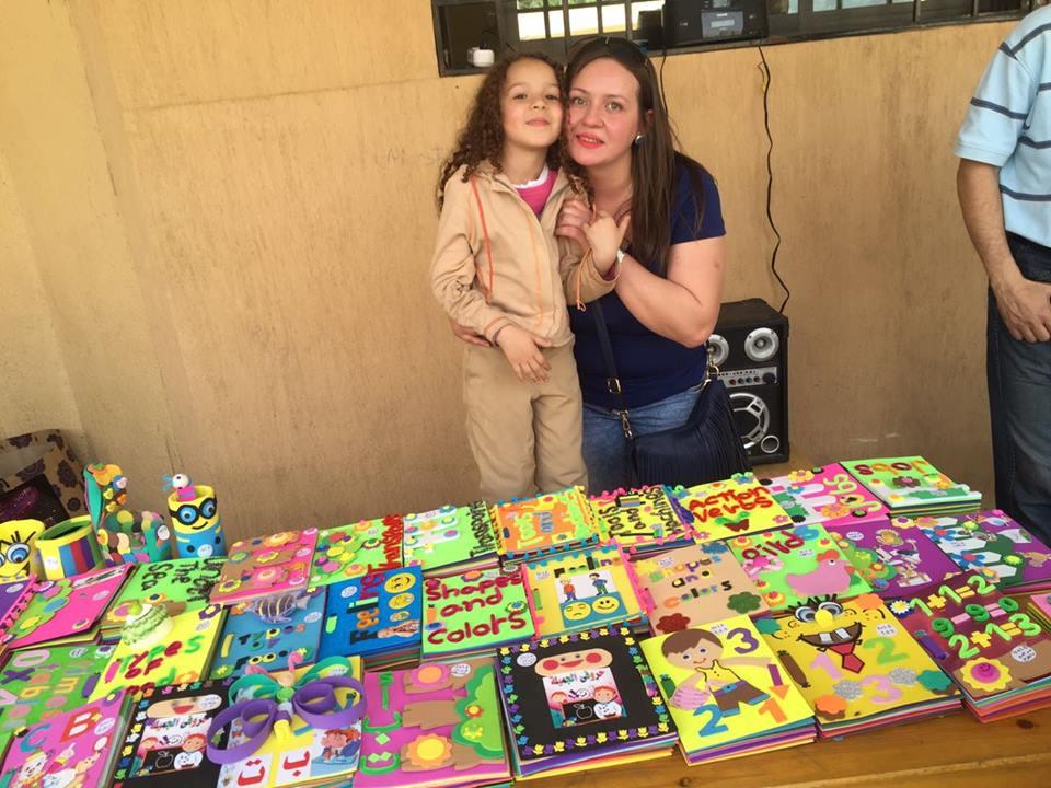 شيماء وطفلتها