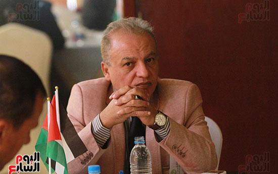 ورشة العمل حول التفاعل الإيجابى بين قطاعات المجتمع المصرى والفلسطينى (8)