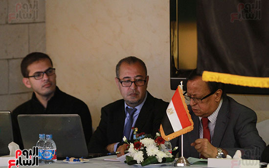 ورشة العمل حول التفاعل الإيجابى بين قطاعات المجتمع المصرى والفلسطينى (11)