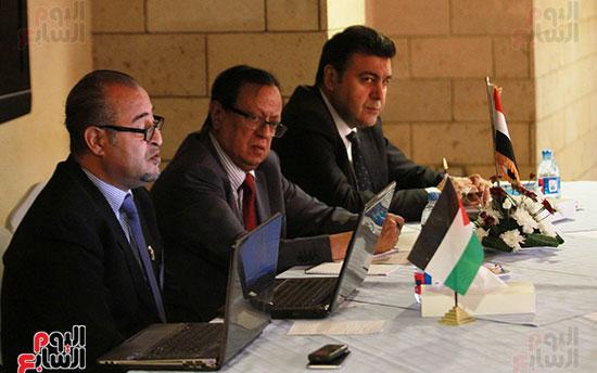ورشة العمل حول التفاعل الإيجابى بين قطاعات المجتمع المصرى والفلسطينى (9)