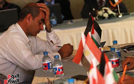ورشة العمل حول التفاعل الإيجابى بين قطاعات المجتمع المصرى والفلسطينى (5)