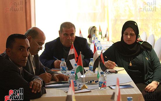 ورشة العمل حول التفاعل الإيجابى بين قطاعات المجتمع المصرى والفلسطينى (15)