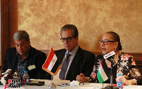 ورشة العمل حول التفاعل الإيجابى بين قطاعات المجتمع المصرى والفلسطينى (24)