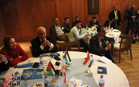 ورشة العمل حول التفاعل الإيجابى بين قطاعات المجتمع المصرى والفلسطينى (22)