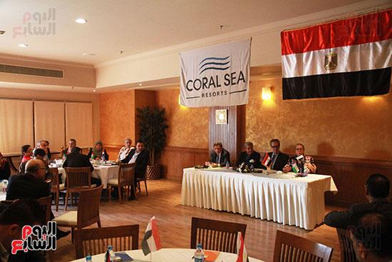 ورشة العمل حول التفاعل الإيجابى بين قطاعات المجتمع المصرى والفلسطينى (23)