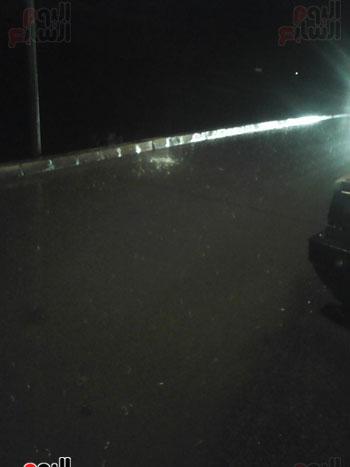 شوارع فوه تغرق بالمياه