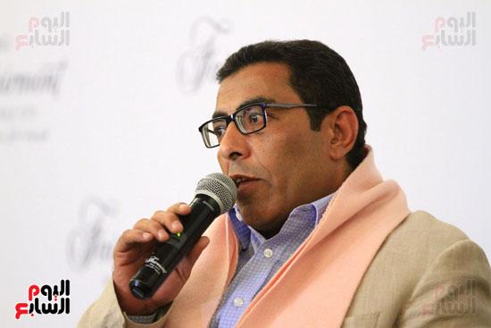 حفل توقيع رواية رحلة الدم للكاتب والإعلامى إبراهيم عيسى (35)