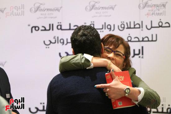 حفل توقيع رواية رحلة الدم للكاتب والإعلامى إبراهيم عيسى (1)