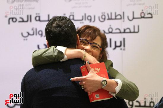 حفل توقيع رواية رحلة الدم للكاتب والإعلامى إبراهيم عيسى (3)