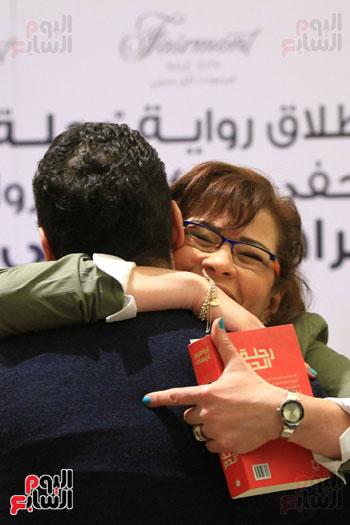 حفل توقيع رواية رحلة الدم للكاتب والإعلامى إبراهيم عيسى (2)