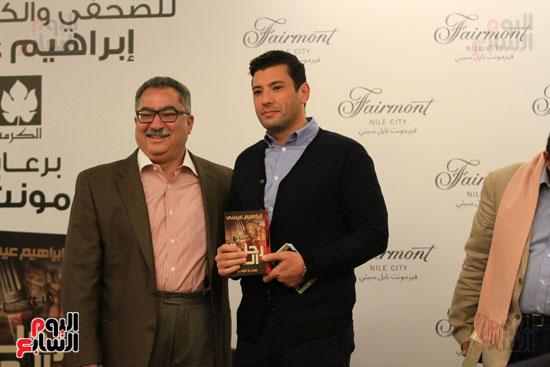 حفل توقيع رواية رحلة الدم للكاتب والإعلامى إبراهيم عيسى (22)