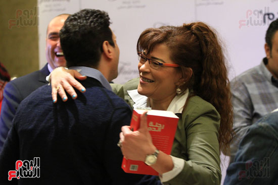 حفل توقيع رواية رحلة الدم للكاتب والإعلامى إبراهيم عيسى (6)