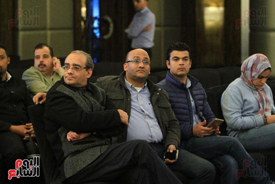 حفل توقيع رواية رحلة الدم للكاتب والإعلامى إبراهيم عيسى (28)