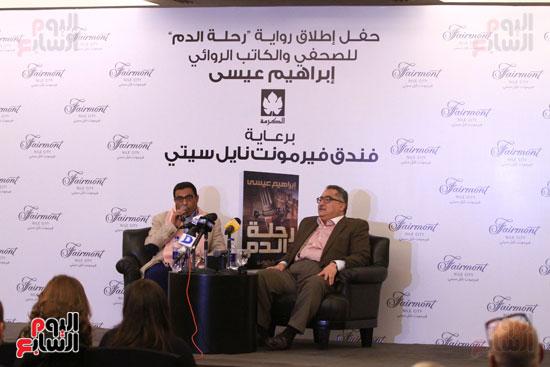 حفل توقيع رواية رحلة الدم للكاتب والإعلامى إبراهيم عيسى (39)