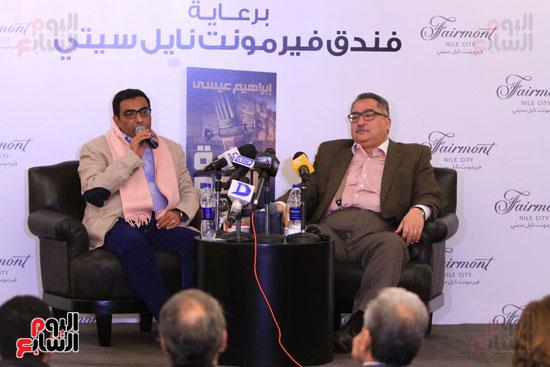 حفل توقيع رواية رحلة الدم للكاتب والإعلامى إبراهيم عيسى (40)