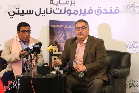 حفل توقيع رواية رحلة الدم للكاتب والإعلامى إبراهيم عيسى (25)