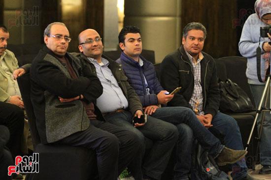 حفل توقيع رواية رحلة الدم للكاتب والإعلامى إبراهيم عيسى (30)