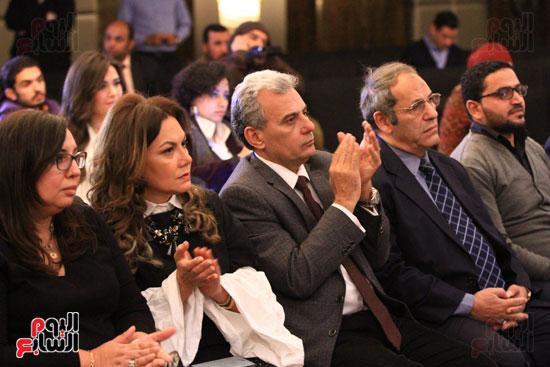 حفل توقيع رواية رحلة الدم للكاتب والإعلامى إبراهيم عيسى (38)